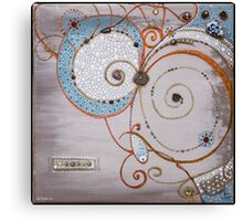 Magick Spirals Canvas Print