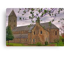 Carriden New Church Canvas Print