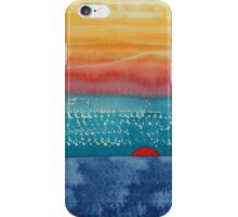 A New Day Dawns original painting iPhone Case/Skin