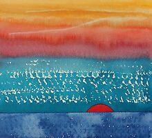 A New Day Dawns original painting by CrowRisingMedia