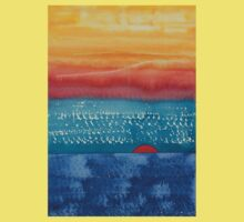 A New Day Dawns original painting Kids Clothes