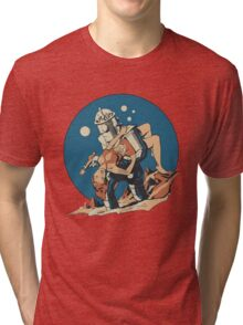 Damsel in Space Tri-blend T-Shirt