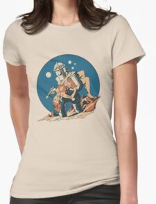 Damsel in Space Womens Fitted T-Shirt