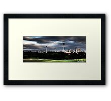 Adelaide from Montefiore Hill. Framed Print