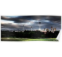 Adelaide from Montefiore Hill. Poster