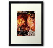 The Book Framed Print