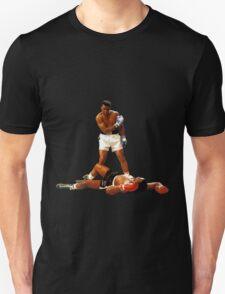 """Falling Lessons"" Ali VS Liston 2, Earth Fists T-Shirt"