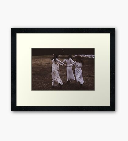 Ashes to Ashes Framed Print