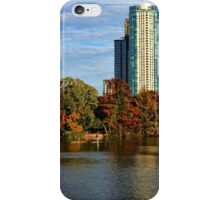 Paddle Boarding in Austin iPhone Case/Skin