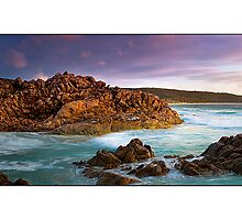 Injidup Beach Panorama by Kirk  Hille