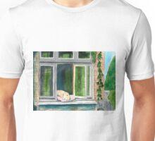 Window Doggie Unisex T-Shirt