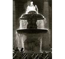 Vatican fountain Photographic Print
