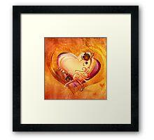 Take My Heart Framed Print