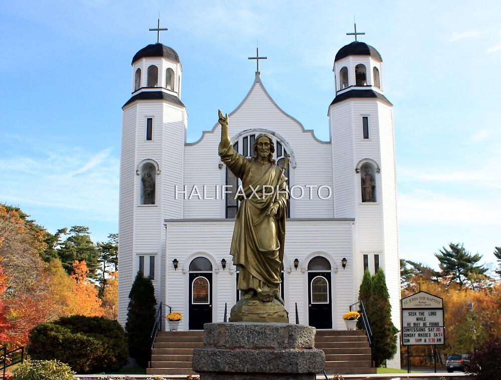 Saint John The Baptist Church  by HALIFAXPHOTO