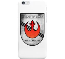 SpecOps Squad 4th, Rebel Alliance.  iPhone Case/Skin