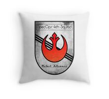 SpecOps Squad 4th, Rebel Alliance.  Throw Pillow