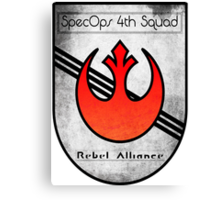 SpecOps Squad 4th, Rebel Alliance.  Canvas Print