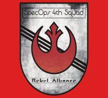SpecOps Squad 4th, Rebel Alliance.  Kids Tee