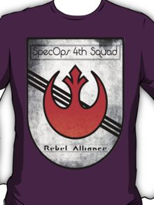 SpecOps Squad 4th, Rebel Alliance.  T-Shirt