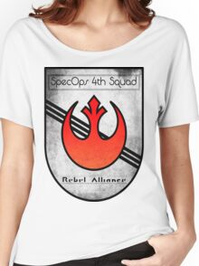 SpecOps Squad 4th, Rebel Alliance.  Women's Relaxed Fit T-Shirt