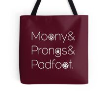 Moony & Pongs & Padfoot Tote Bag