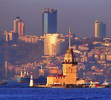 Kiz Kulesi (Leander Tower), Istanbul by nadir