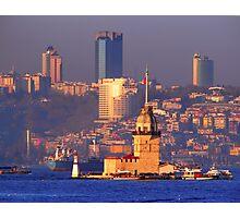 Kiz Kulesi (Leander Tower), Istanbul Photographic Print