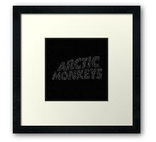 Arctic Monkeys Song List Framed Print