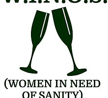 w i n o s women in need of sanity by evahhamilton