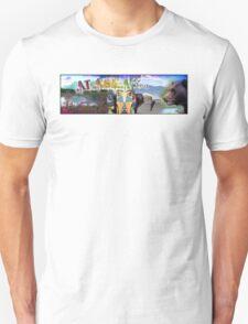 Shari Brown ~ Custom Order ~ ALASKA post banner T-Shirt