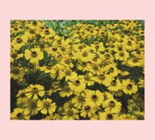 Yellow daisy 3 Kids Clothes