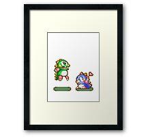 Bubble bobble Framed Print