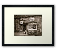 Lacock Bakery Framed Print