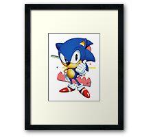 Sonic JP Framed Print