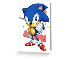 Sonic JP Greeting Card