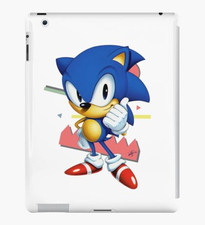 Sonic JP iPad Case/Skin