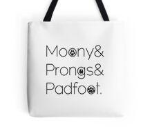 Marauders& Tote Bag