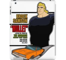 Brock Samson IS MULLET! iPad Case/Skin