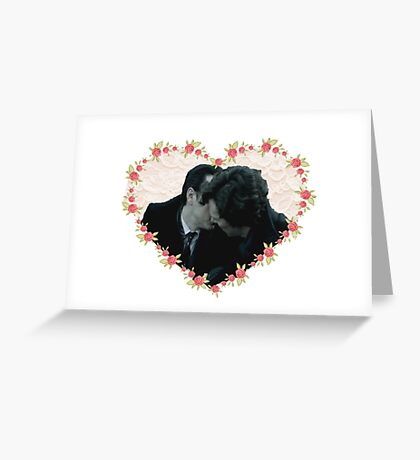 Sheriarty kiss Greeting Card