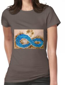 Infinite Voyage Womens Fitted T-Shirt