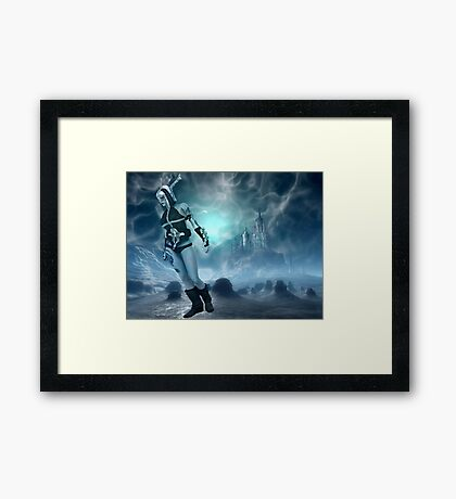 Stay Cool My Friends Framed Print