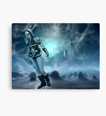 Stay Cool My Friends Canvas Print
