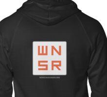 WNSR Zip-Up - Back logo Zipped Hoodie