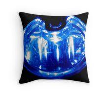 Blue U Throw Pillow