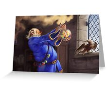 Blue Alchemist Greeting Card