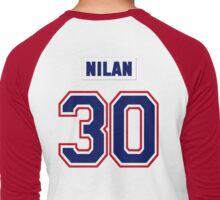 Knuckles Nilan #30 - white jersey Men's Baseball ¾ T-Shirt