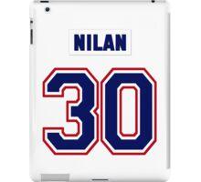 Knuckles Nilan #30 - white jersey iPad Case/Skin