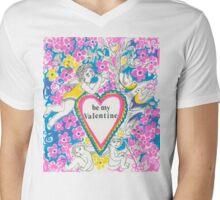 Valentine Mens V-Neck T-Shirt