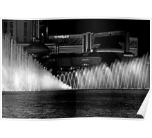 Showtime! The Bellagio Water Fountain Poster