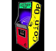 COIN OP history box Photographic Print